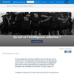 Qu'est-ce l'intelligence collective ?