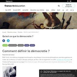Qu'est ce que la démocratie? - Dossier - France tv Éducation