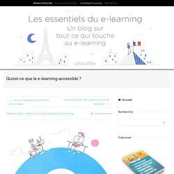 Qu'est-ce que le e-learning accessible ?