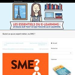 Qu'est-ce qu'un expert métier, ou SME ?