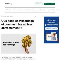 Qu'est ce qu'un Hashtag et comment l'utiliser ?- Wix.com