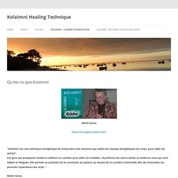 Kolaimni Healing Technique