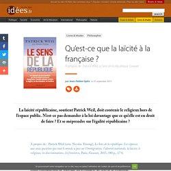 Qu'est-ce que la laïcité à la française
