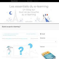 Qu'est-ce le e-learning ?