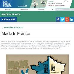 Qu'est-ce que le Made In France? - EcoSocioConso