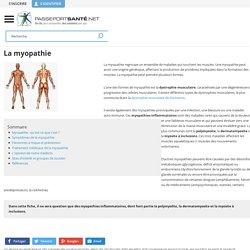 Qu'est-ce que la myopathie ?