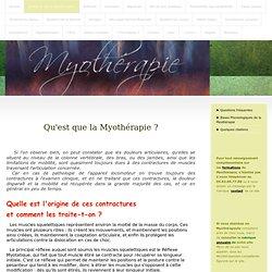 Qu'est-ce que la Myothérapie ? - www.brachy-myotherapie.com