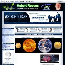 Qu'est-ce qu'une planète tellurique ?