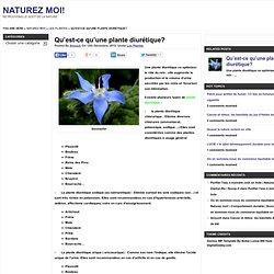 Qu'est-ce qu'une plante diurétique?