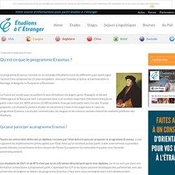 Qu'est ce que le programme Erasmus ?