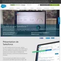 Qu'est-ce que Salesforce? Outils CRM cloud