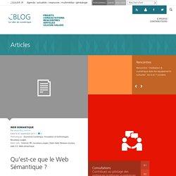 Qu'est-ce que le Web Sémantique ? - C/blog