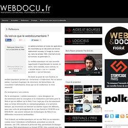 Qu'est-ce que le webdocumentaire ? | WEBDOCU.fr, webdocumentaires et nouvelles formes de reportage
