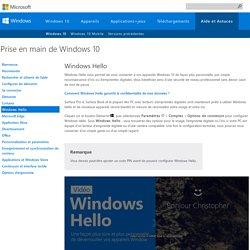 Qu'est-ce que Windows Hello? - Aide Windows
