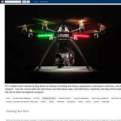 The Quad Copter Guy: Choosing Your Parts