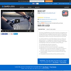 Quad Lock ‐ iPhone 6/6S PLUS Bike Mount