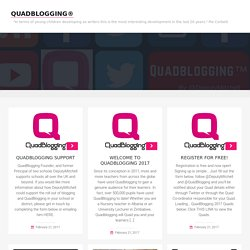 QuadBlogging | Connecting Blogs through Quads
