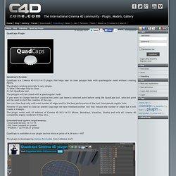 QuadCaps Plugin - VideoBlog - Blog - C4Dzone