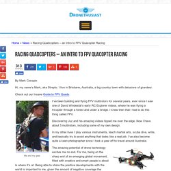 Intro to FPV Racing and Mini Quadcopters - Dronethusiast