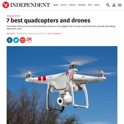 7 best quadcopters and drones
