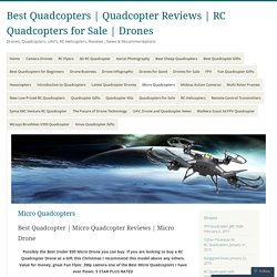 RC Quadcopters for Sale