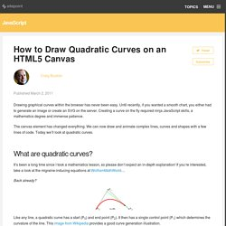 How to Draw Quadratic Curves on an HTML5 Canvas » SitePoint Blogs