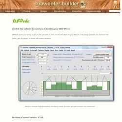 QRDude: Quadratic Residue Diffuser calculator