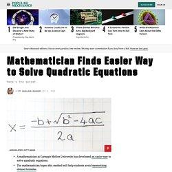 Quadratic Equations - Quadratic Equations How to Solve