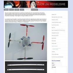 Quadricoptère - Ma passion du modélisme