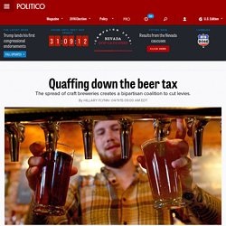 Quaffing down the beer tax