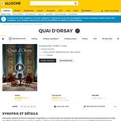 Quai d'Orsay - film 2012
