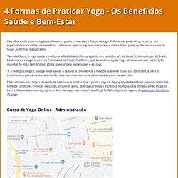 Quais os Benefícios do Yoga