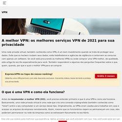 Qual o melhor VPN em 2020?