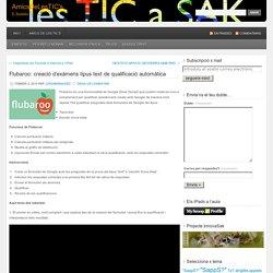 Flubaroo: creació d'exàmens tipus text de qualificació automàtica