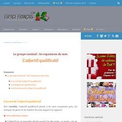 EspaceFrancais.com - Grammaire