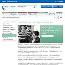 Qualifications and Apprenticeships