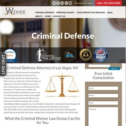 Highly Qualified & Successful Criminal Defense Attorney in Las Vegas