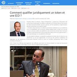 Comment qualifier juridiquement un token et une ICO