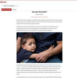 How do I Qualify my Child for Social Security I... - London Disability - Quora