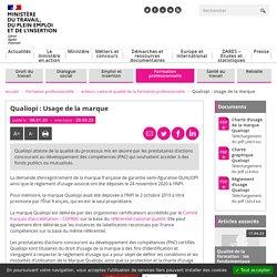 Qualiopi - marque certification qualité des prestataires de formation