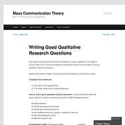 Communications college research writing