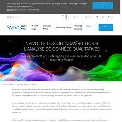 Logiciel NVivo pour la recherche qualitative