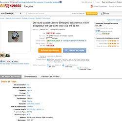 De haute qualité kasens 990wg 60 dbi'antenne; 150m adaptateur wifi usb carte wlan usb wifi 25 km dans de sur Aliexpress.com