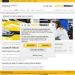 Qualité automobile Renault et Dacia