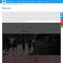 Nike qualité de fabrication, design branché et innovation