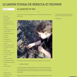 Le jardin d'essai de Rébecca et Delphin
