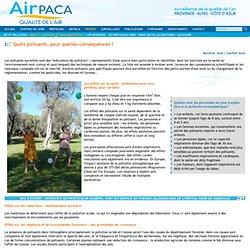 Air PACA, Qualité de l'Air /html/polluants_seuils_effets_sur_la_sante.php