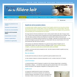 INFOCONSEIL - 2005 - Gestion de la qualité dans la transformation laitière : expérimentation d'une démarche d'élaboration concer