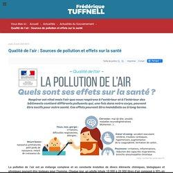 Qualité de l'air : Sources de pollution et effets sur la santé