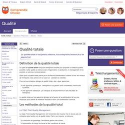 Qualité totale : tout savoir sur les méthodes de qualité totale